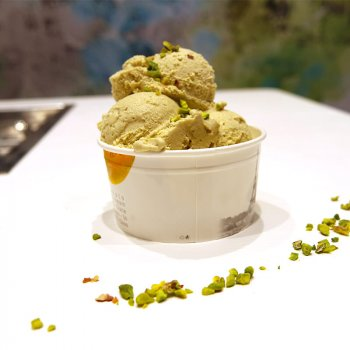 Gelateria Calmaggiore - Coppetta pistacchio